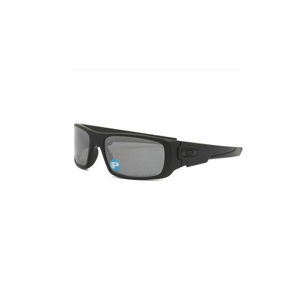 Oakley Rectangular Style Black Iridium Lens.